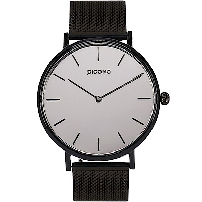 【PICONO】Mirror T鏡面快拆式不鏽鋼網帶手錶 / FX-7102