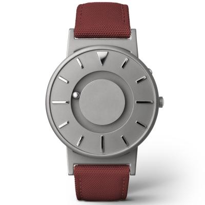 EONE 美國設計品牌 Bradley 觸感腕錶-奔放紅/40mm