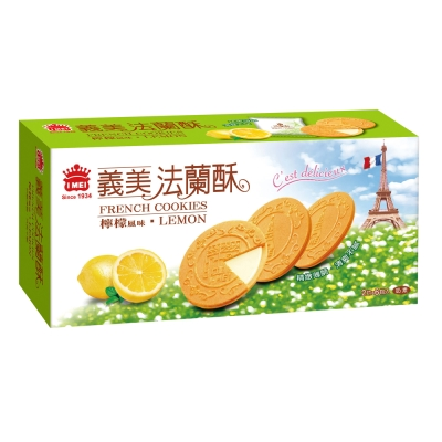 義美 檸檬法蘭酥(132g)