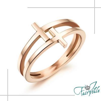 iSFairytale伊飾童話 閃耀的瞬間 玫瑰金戒指 13號