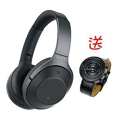 SONY WH-1000XM2 藍芽無線降噪耳罩式耳機 - 黑色 (公司貨)
