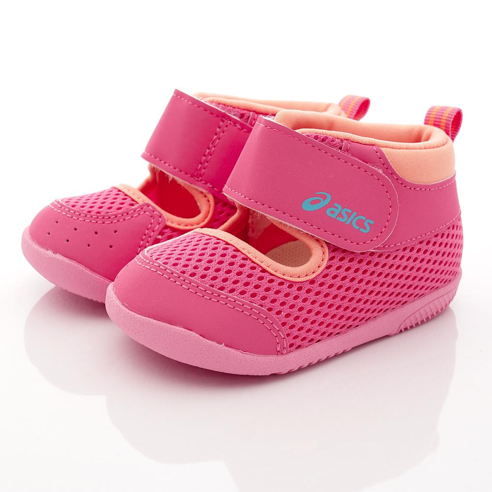 亞瑟士SUKU2機能鞋-速乾護踝款-ON17-19桃(寶寶段)HN