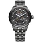 FIYTA飛亞達 極限系列車元素機械錶(GA8460.BBB)-黑色/42mm
