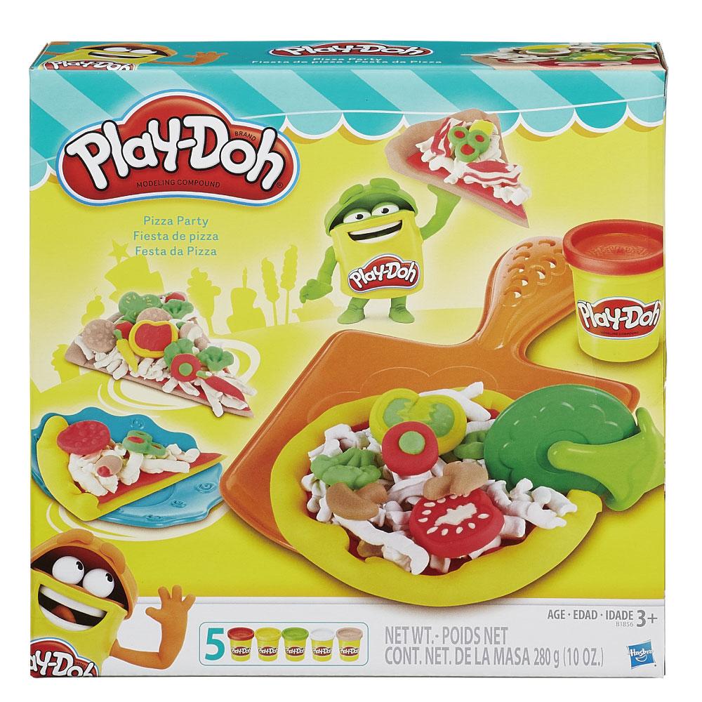 play-doh培樂多披薩派對遊戲組