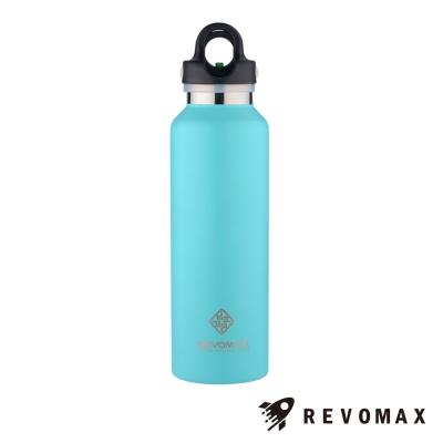 美國銳弗Revomax 316不鏽鋼保溫保冰秒開瓶592ML(湖水綠)