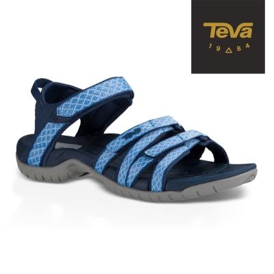 TEVA 美國 女 Tirra 機能運動涼鞋 (水藍)