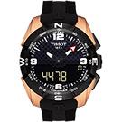 TISSOT T-TOUCH 鈦金屬太陽能觸控腕錶 NBA 特別版腕錶-45mm
