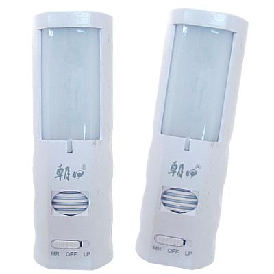 【照明空間】3LED小夜燈加驅蚊器(電池式)-2入
