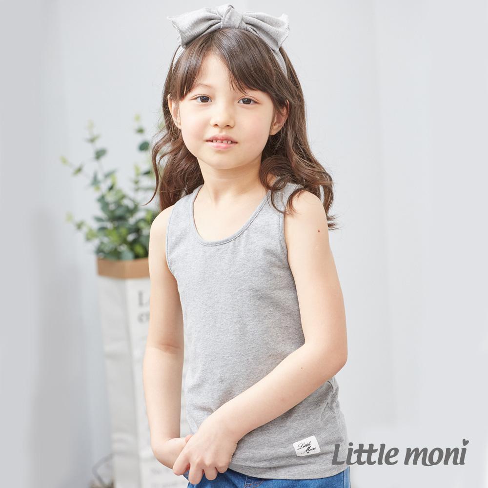 Little moni 百搭素色背心 (3色可選)