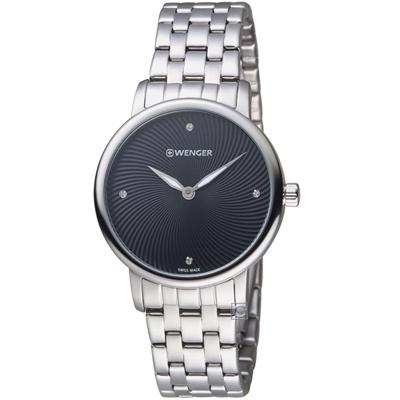 WENGER Urban Donnissima系列炫燦時光腕錶( 01.1721.105)