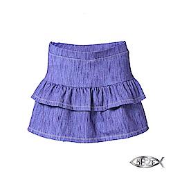 5B2F 五餅二魚 仿牛仔蛋糕裙襬短褲