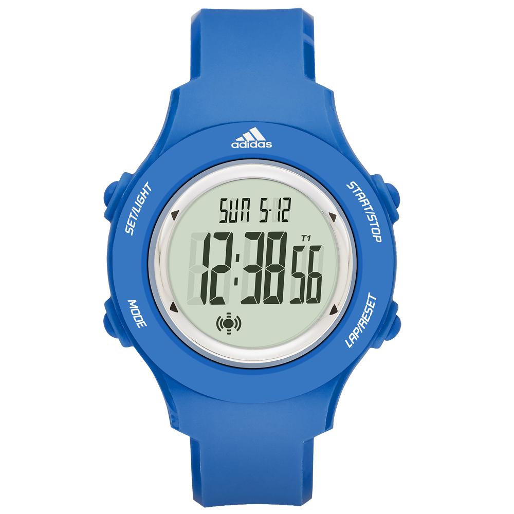 adidas玩色潮流時尚腕錶-藍x小ADP3216 40mm