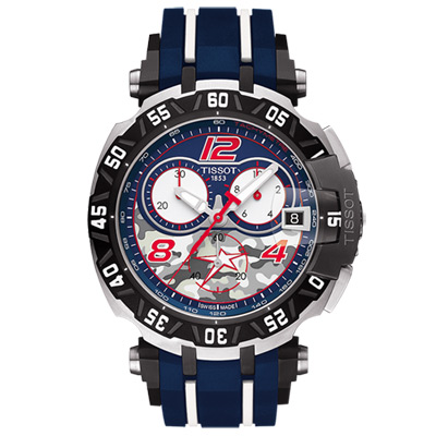 TISSOT 天梭 T-Race Nicky Hayden 限量賽車計時腕錶 T0924172705703
