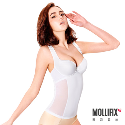 Mollifix 零感FIT 輕體塑身衣 (白)