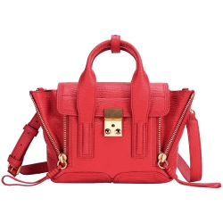 3.1 Phillip Lim Pashli mini 牛皮兩用提包(紅色)