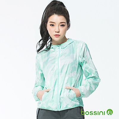 bossini女裝-多功能輕便風衣01薄荷綠