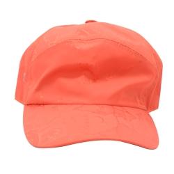Alviero Martini 義大利地圖 尼龍地圖棒球帽-橘紅