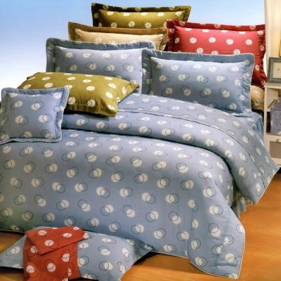 艾莉絲-貝倫 圓素心靈 高級混紡棉 單人鋪棉涼被床包三件組