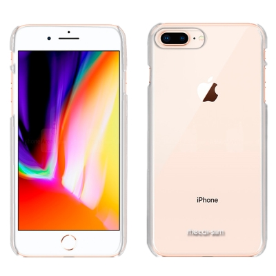 Metal-Slim Apple iPhone 8 Plus 高抗刮PC透明新型...