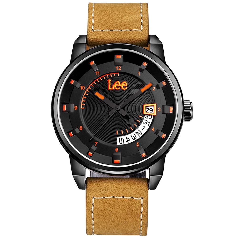 Lee  準確瞄準時尚腕錶-LES-M31DBL5-14/41mm @ Y!購物