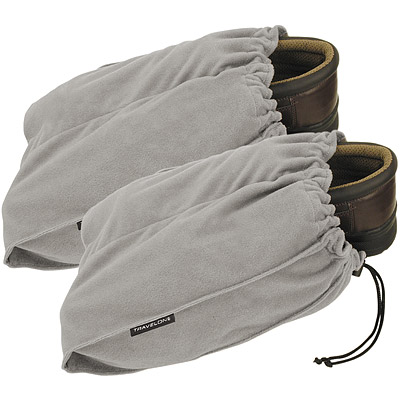 TRAVELON 鞋子收納袋(灰2入)