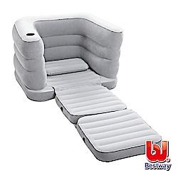 《凡太奇》Bestway。多功能單人充氣沙發床-沉穩灰 75065