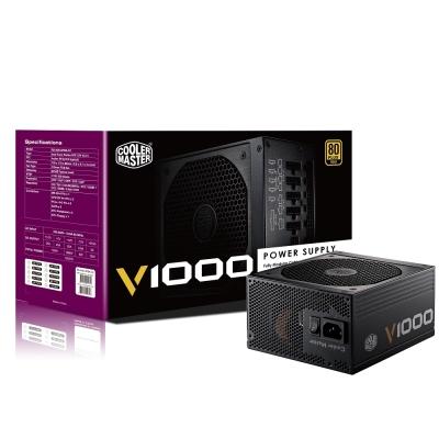 Cooler Master V1000 80Plus金牌 1000W 全模組化 電源供應器