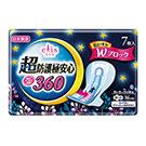 日本大王elis愛麗思 超防護極安心夜用36cm(7片/包)