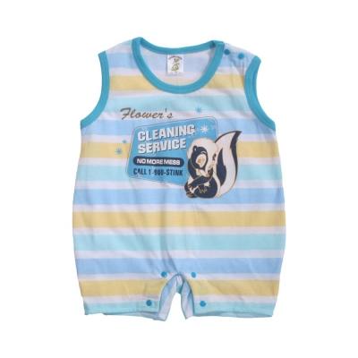 魔法Baby 台灣製寶寶無袖連身衣(2件一組) k40982