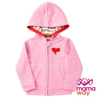 【Mamaway】Baby 柔軟休閒連帽外套(共三色)