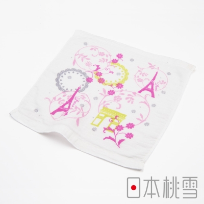 日本桃雪紗布巾浪漫世界旅-巴黎