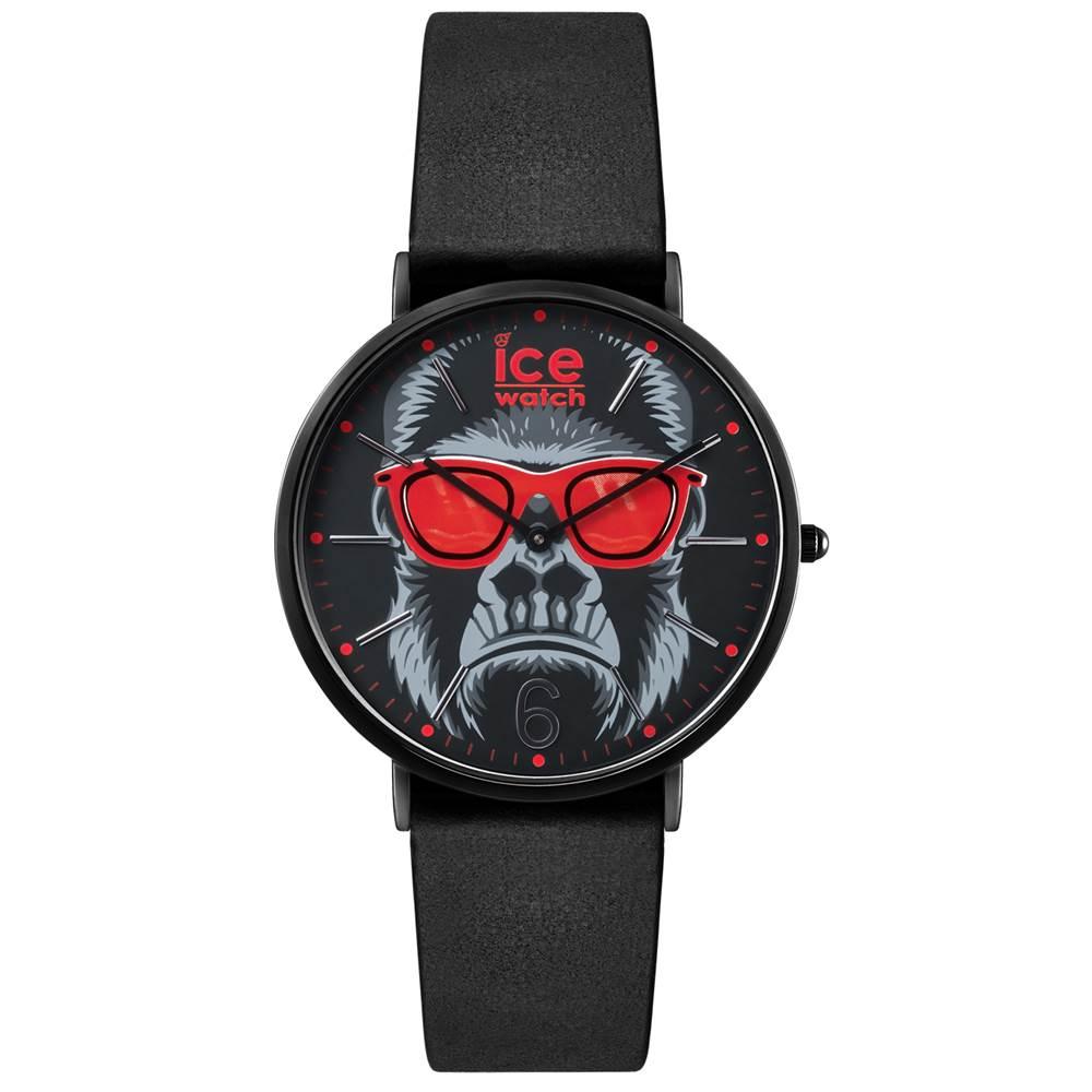 Ice-Watch 年獸系列 限定猴款手錶-酷猴x黑/41mm