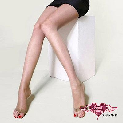 絲襪 15D超薄透膚彈性露趾連褲襪(膚F) AngelHoney天使霓裳