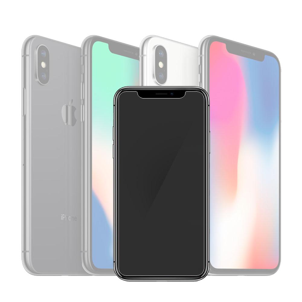 EZstick APPLE IPhone X霧面鋼化玻璃保護貼