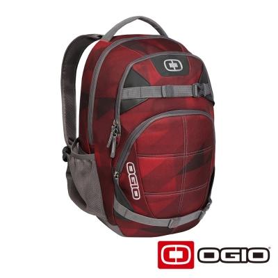 OGIO REBEL 15吋 背叛者電腦後背包-暗紅色