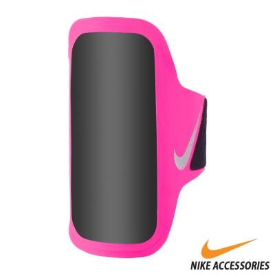 NIKE VENTILATED 手機萬用臂包(5.5吋手機通用) (粉/銀)
