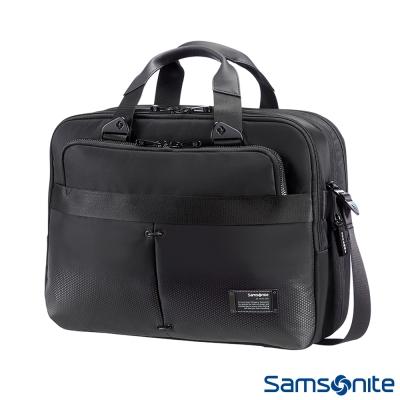 Samsonite新秀麗 CityVibe都會商務手提公事包-13吋~16吋(黑)