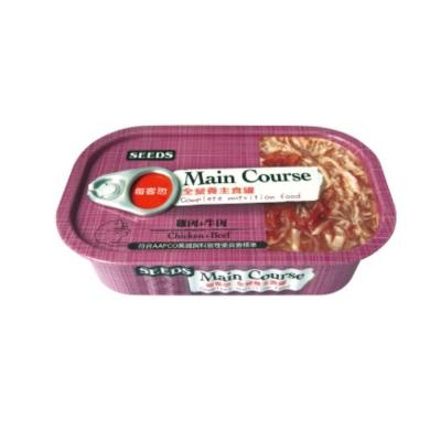 SEEDS每客思 全營養主食罐《雞肉+牛肉》115g