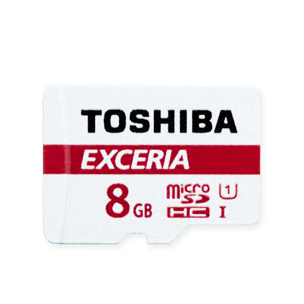 TOSHIBA 8GB Micro SD 記憶卡(UHS-I C10 R48MB)