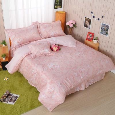 BARNITE春之花序 舒爽天絲五件式中式寢具組-雙人