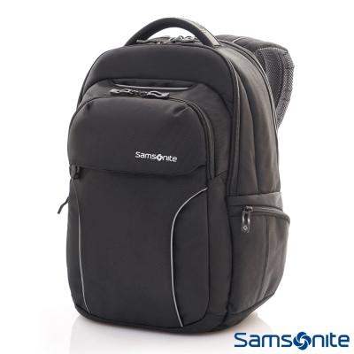Samsonite新秀麗 Torus多功能收納可拆式筆電後背包14吋(黑)