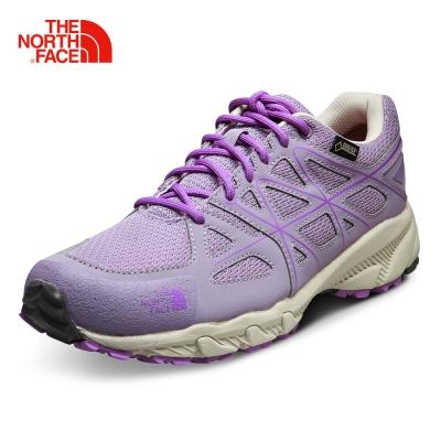 The North Face女款灰色越野跑鞋