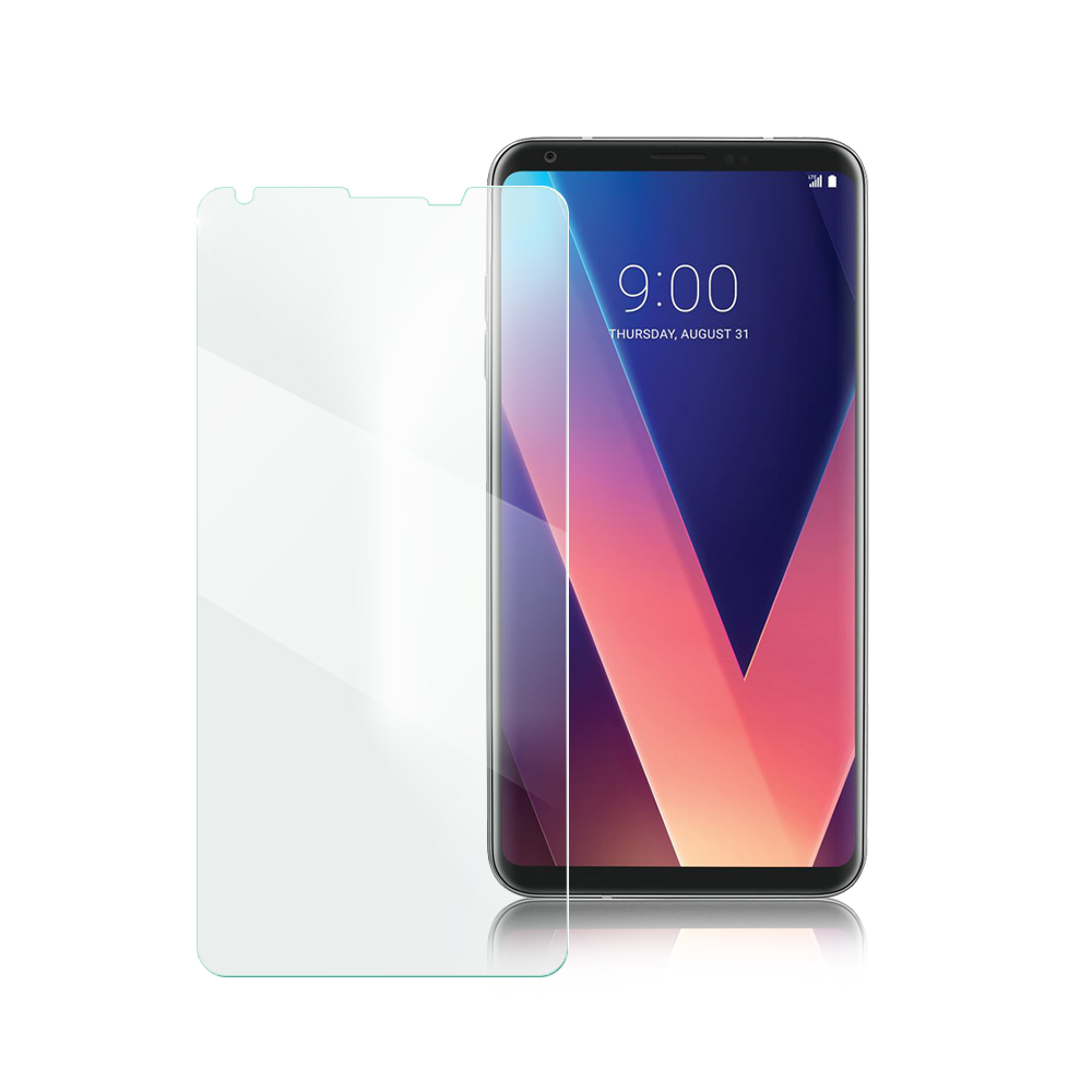 Xmart for LG V30 薄型 9H 玻璃保護貼-非滿版 @ Y!購物