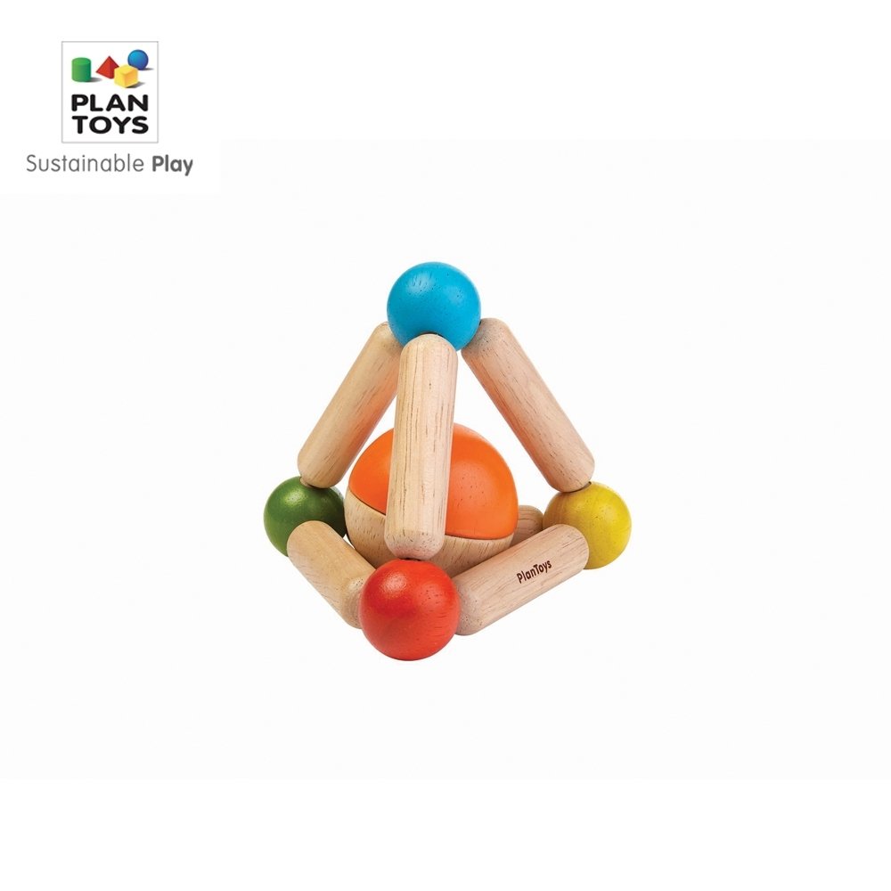 GMP BABY PLAN TOYS 伸縮彈性抓握三角形1組(1Y+)