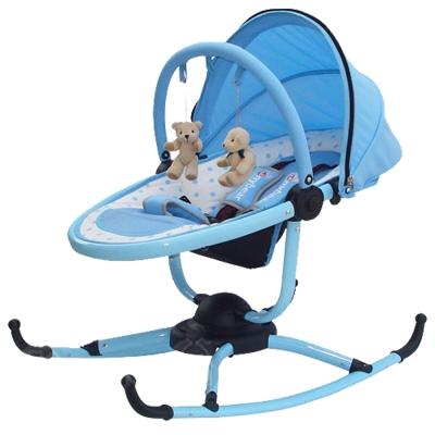 TONYBEAR 嬰兒旋轉式搖椅-藍色
