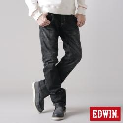 EDWIN生活態度 XV袋蓋中直筒牛仔褲-男款-灰