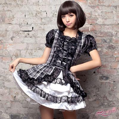 Lorrine 黑白日系女傭角色扮演服