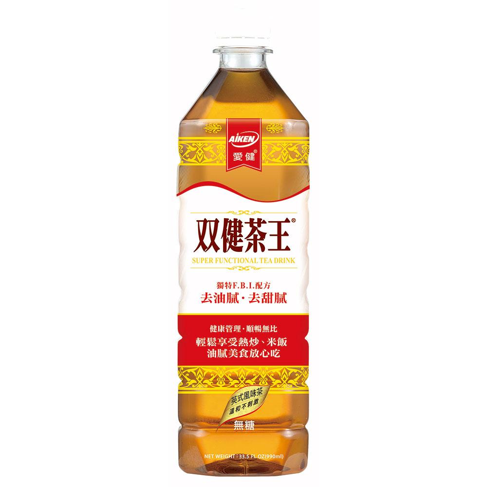 愛健 雙健茶王(1000mlx12入)