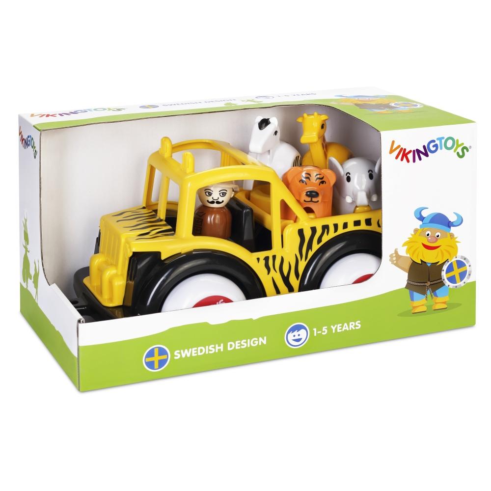 瑞典Viking Toys維京玩具-狩獵車禮盒