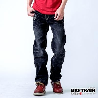 BIG TRAIN 怒火鍾馗黑垮褲-男-黑色